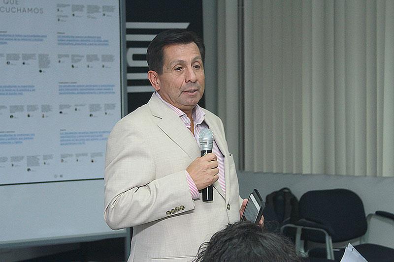 Fernando Barrios Ipenza: Universidades deben fomentar el desarrollo de proyectos innovadores con impacto socia